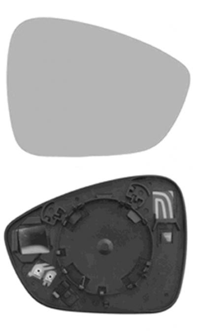 Зеркальный элемент Citroen C4 Picasso 2013+
