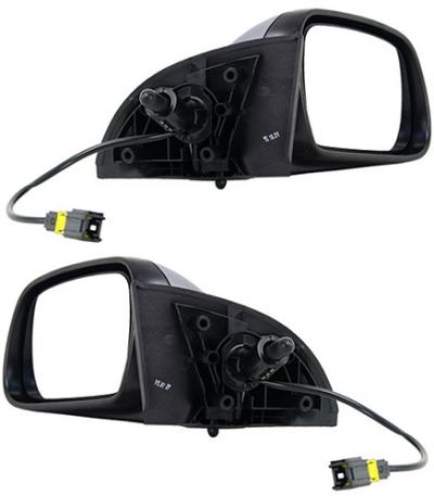 Зеркало заднего вида боковое Peugeot 307 2005-2007