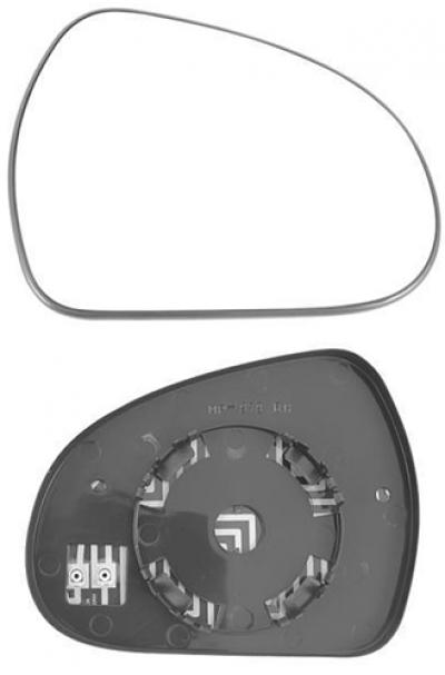 Зеркальный элемент Peugeot 207 2006-2012