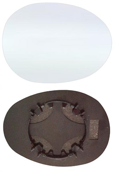 Зеркальный элемент Toyota Aygo (AB1) 2005-2014
