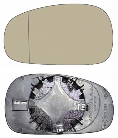 Зеркальный элемент Seat Leon 2005-2009