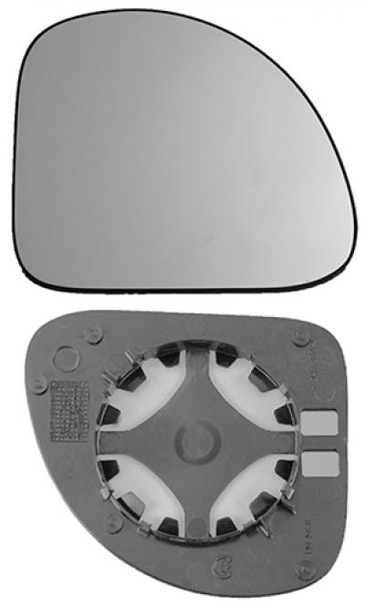 Зеркальный элемент Fiat Multipla 1999-2010
