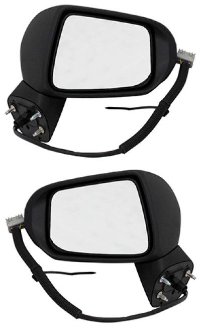 Зеркало заднего вида боковое Honda Fit/Jazz (GD), 2002-2008