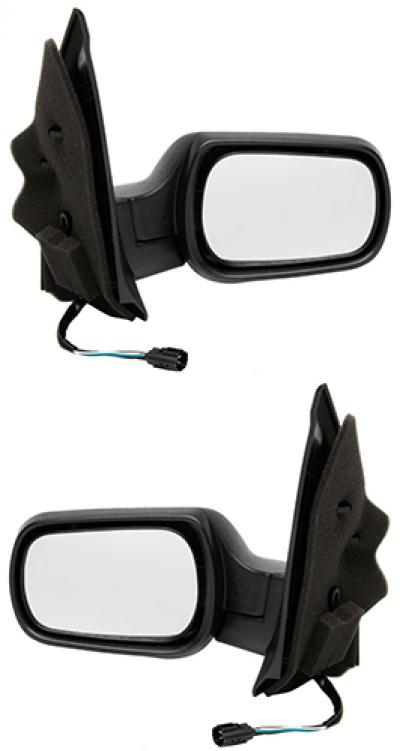 Зеркало заднего вида боковое Ford Fiesta 2006-2008