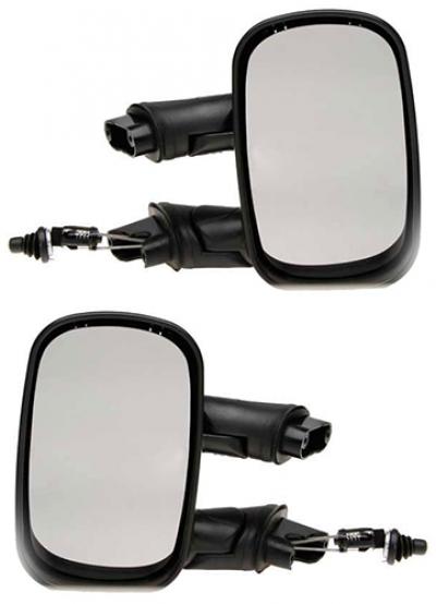 Зеркало заднего вида боковое Fiat Doblo 2001-2009