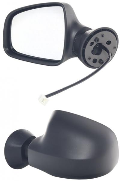 Зеркало заднего вида боковое Dacia Logan 2007-2009 MCV