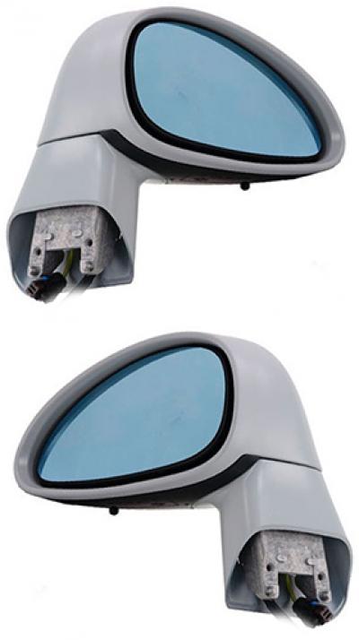 Зеркало заднего вида боковое Citroen C4 2005-2010