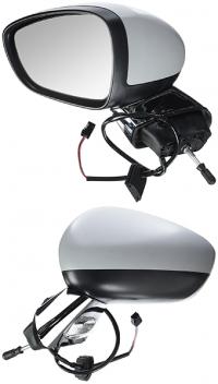 Зеркало заднего вида боковое Citroen C3 2010-2016