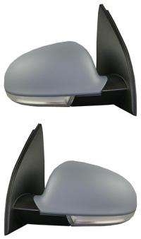 Зеркало заднего вида боковое VW Golf V Plus (5M) 2005-2009