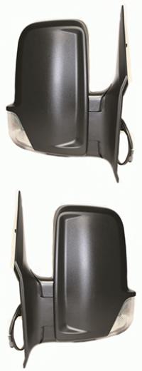 Зеркало заднего вида боковое заднего вида Mercedes Sprinter 2006-2018