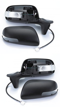 Зеркало заднего вида боковое Toyota Auris (E15) 2010-2012