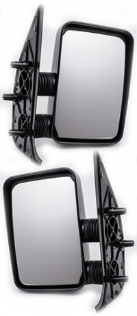 Зеркало заднего вида боковое Peugeot Boxer 1994-2001