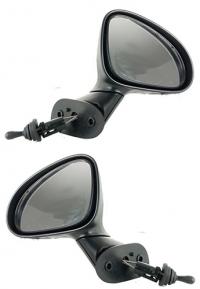 Зеркало заднего вида боковое Chevrolet Matiz 2 (KLYA/M150) 2001-2005