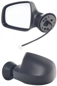"""Зеркало заднего вида боковое Renault Logan 2007-2009 MCV """"Электрическое"""""""
