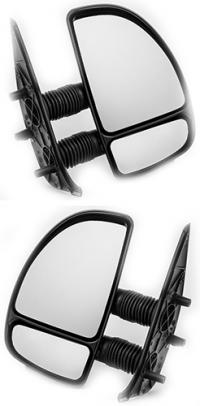 Зеркало заднего вида боковое Fiat Ducato 1999-2006