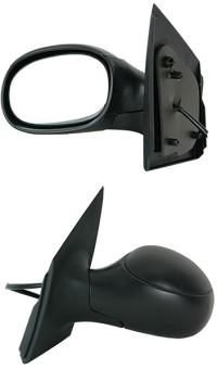 Зеркало заднего вида боковое Citroen C2 2003-2009