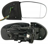 Зеркало заднего вида боковое Mercedes E-Klasse (W211) 2002-2006